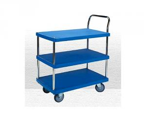 3 Shelf Plastic Trolley
